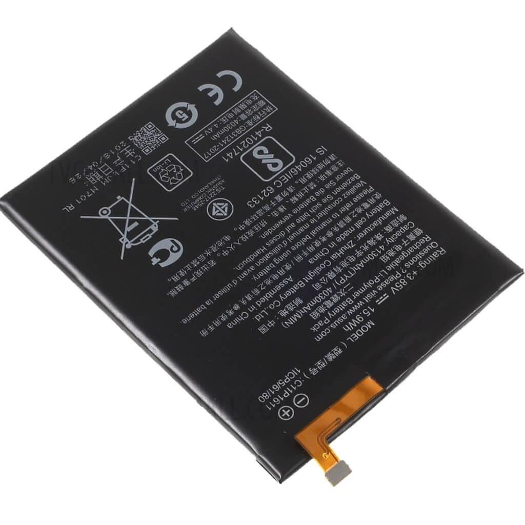 تصویر باتری اصلی ایسوس Asus Zenfone Max Plus (M1) ZB570TL Battery Asus Zenfone Max Plus (M1) ZB570TL - C11P1611
