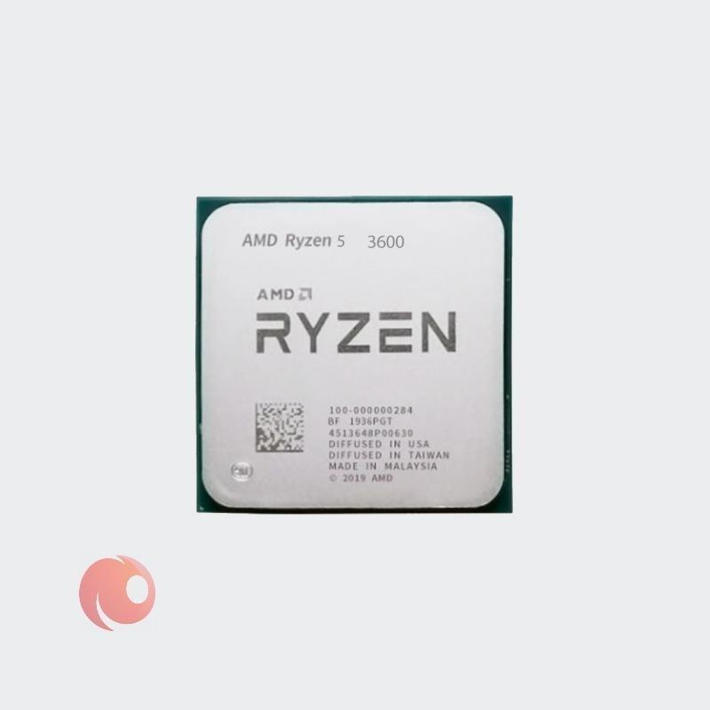 تصویر پردازنده AMD مدل Ryzen 5 3600