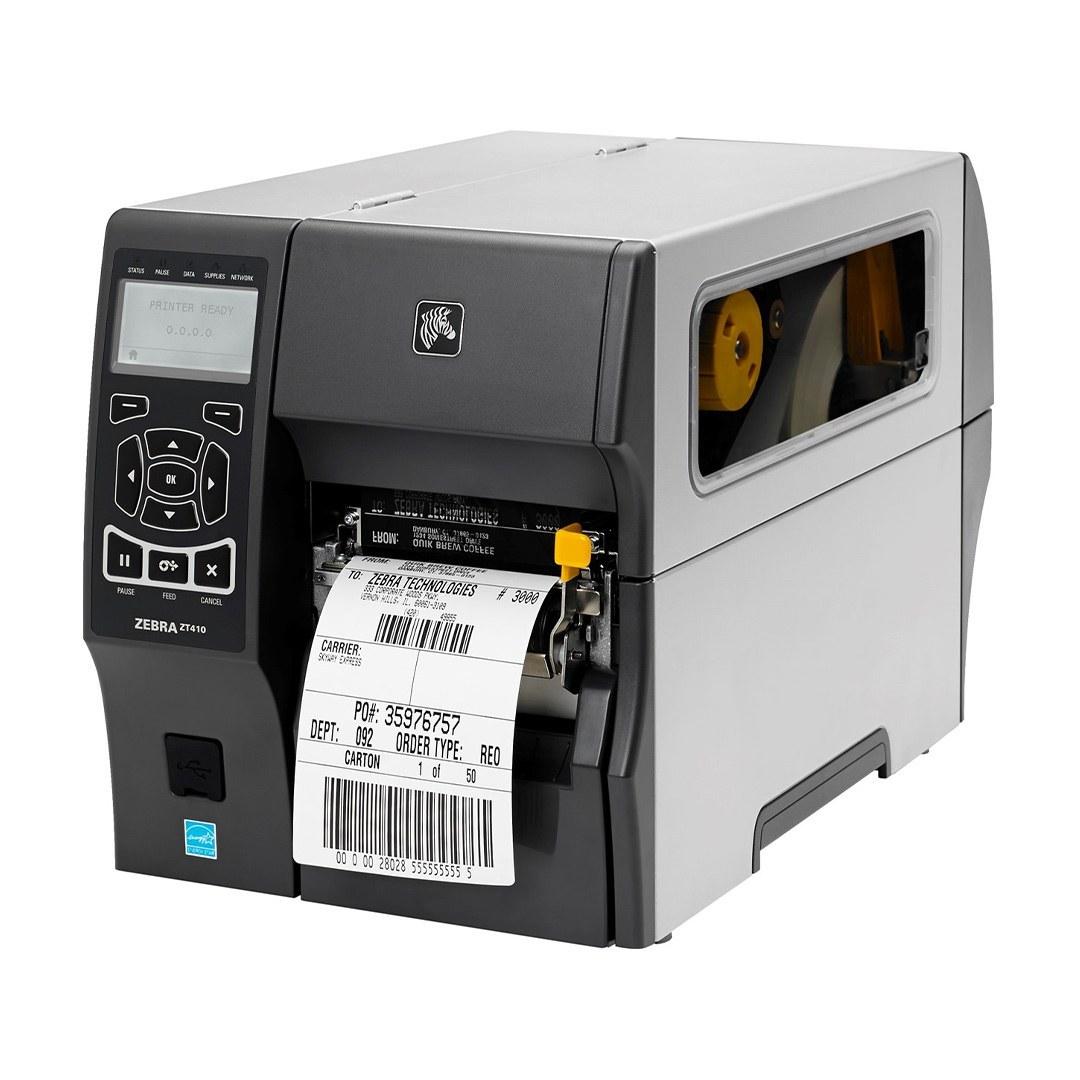 تصویر پرینتر لیبل زن زبرا مدل زد تی410 Zebra ZT410/200 Label Printer