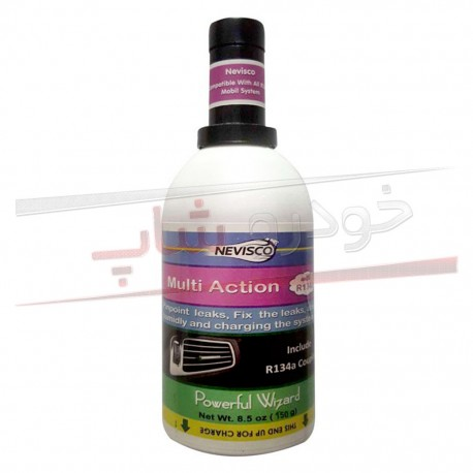 تصویر مکمل گاز نشت گیر و تقویت کننده کولر خودرو نویسکو حجم 250 گرم Nevisco Multi Action
