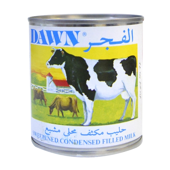 تصویر شیر عسلی غلیظ الفجر 390 گرم Dawn