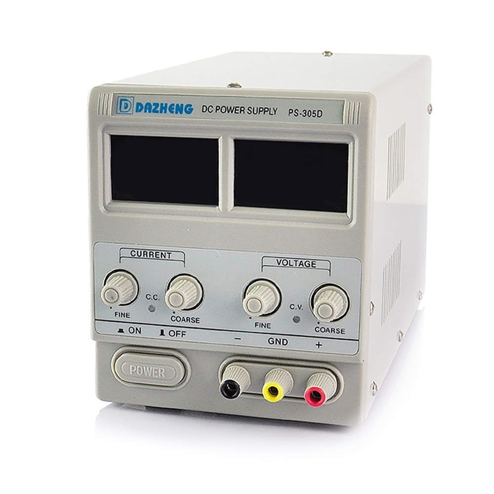 تصویر منبع تغذیه داژنگ ۳۰ولت/ ۵آمپر DAZHENG PS-305D Dazheng PS-305D Power Supply