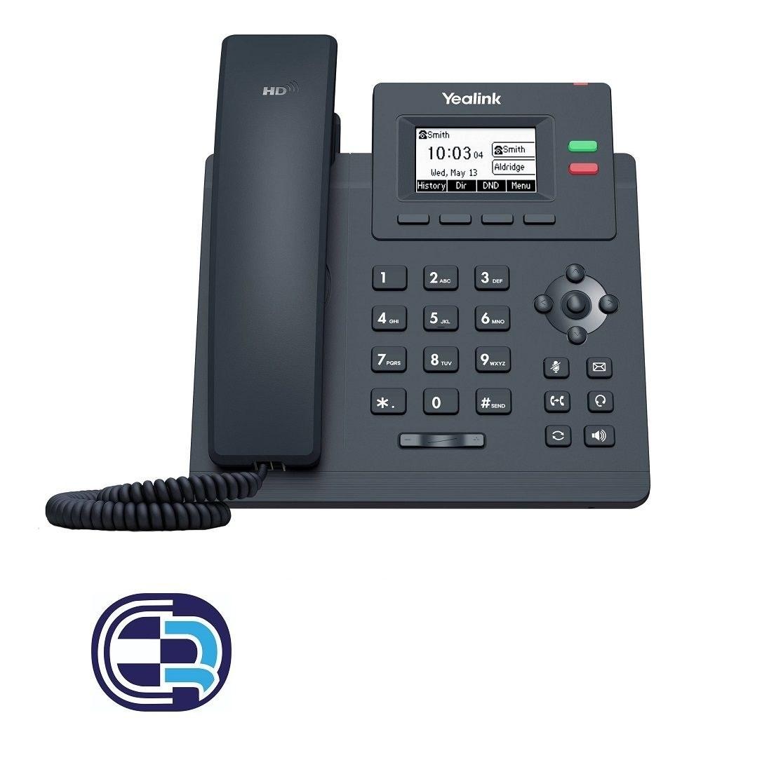 تصویر تلفن تحت شبکه مدل SIP-T31G یالینک Yalink SIP-T31G network telephone