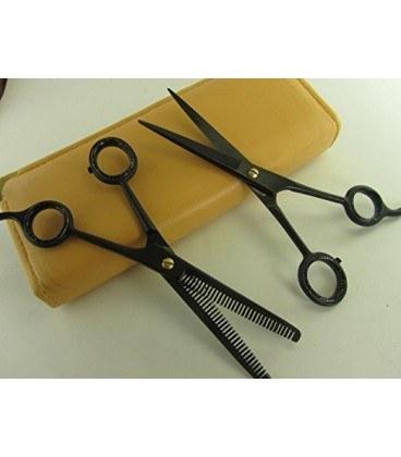 تصویر ست قیچی آرایشگری سیزر پلاس Professional Hair Cutting & Thinning Scissors