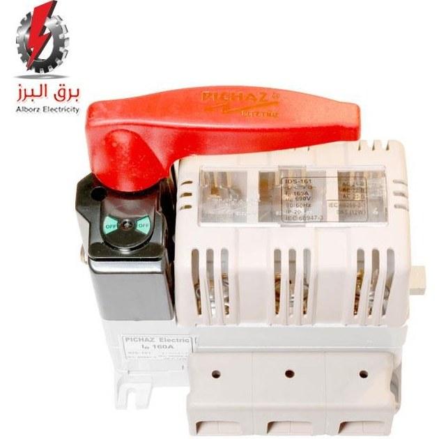تصویر کلید فیوز قابل قطع زیر بار (گردان) 160A پیچاز الکتریک