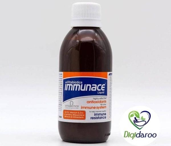 تصویر شربت ایمیونیس Immunace Syrup