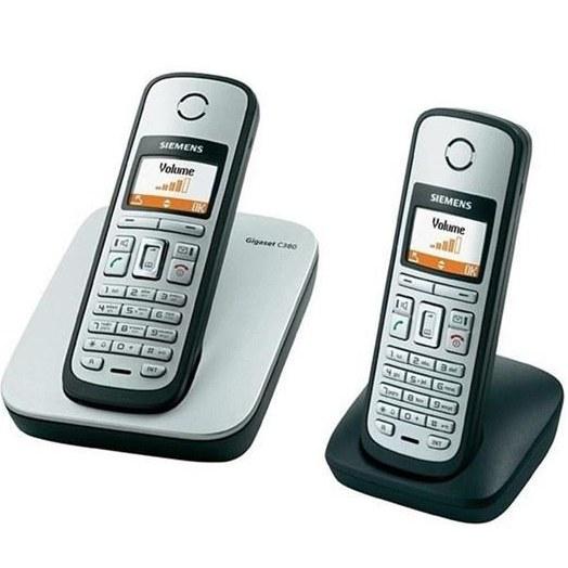 تصویر گوشی تلفن بی سیم گیگاست مدل C380 Duo Gigaset C380 Duo Wireless Phone