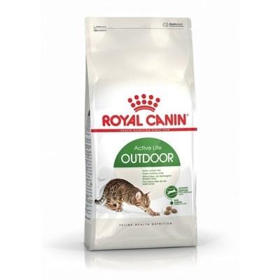 غذای خشک Royal canin مدل Active life OUTDOOR مخصوص گربه بالغ - 2 کیلوگرم |