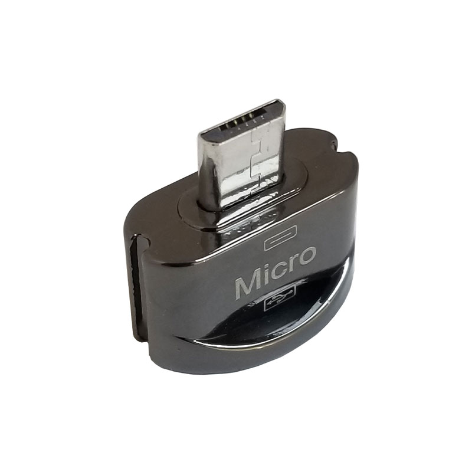تصویر تبدیل OTG usb به micro usb مدل al48