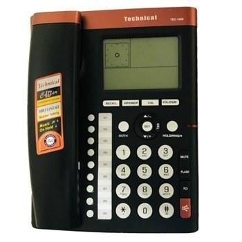 تصویر تلفن رومیزی تکنیکال مدل TEC 1049