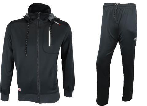 ست گرم کن و شلوار ورزشی مردانه REEBOK ری بوک KHP49-9001 | Mens REEBOK Necktie Heater and Trousers-KHP49-9001