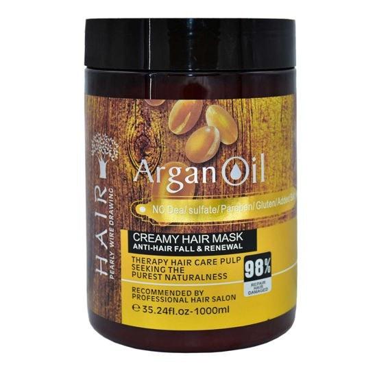 تصویر ماسک مو آرگان مدل Argan oil حجم 1000 میلی لیتر ا Argan oil 1000ml Argan oil 1000ml