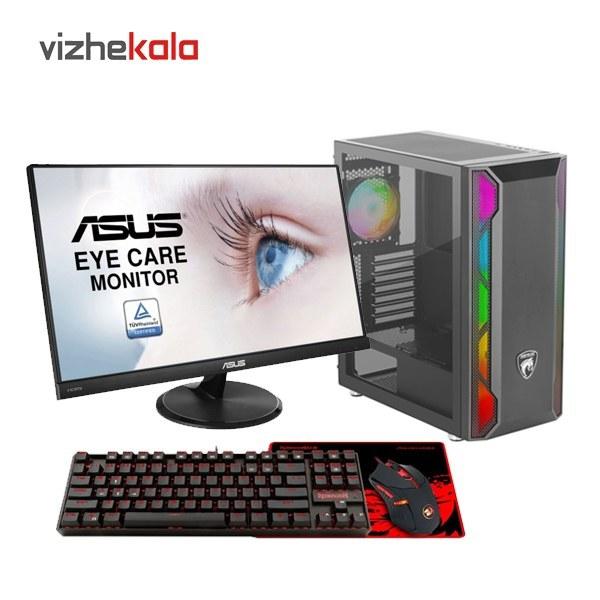 تصویر کامپیوتر گیمینگ آماده مدل Core i5-9400