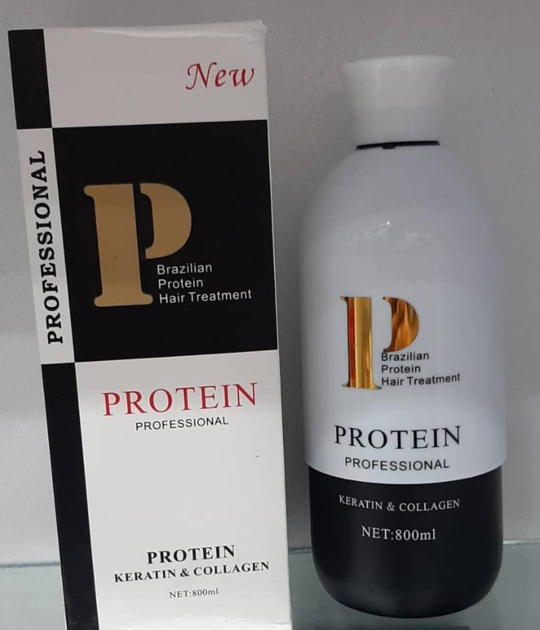 تصویر پروتئین مو P ساخت برزیل P Protein Hair Treatment