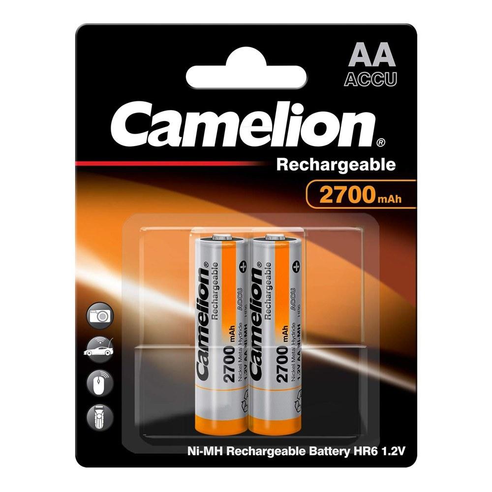 تصویر باتری قلمی شارژی (قابل شارژ) کملیون 2700-2 عددی