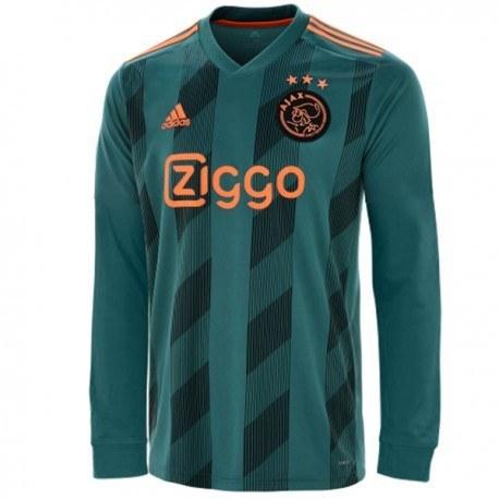 پیراهن اول آژاکس آستین دار فصل Ajax 2019-20 Jersey Long Sleeve