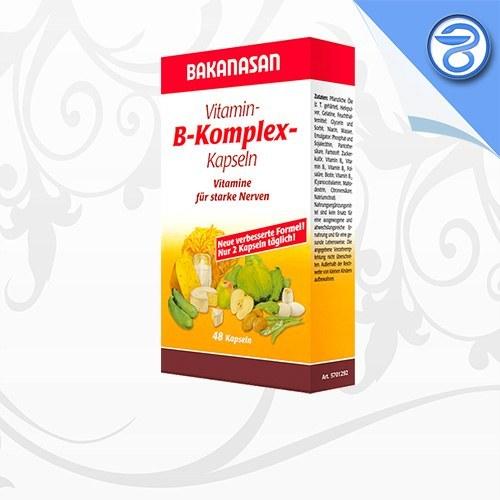 کپسول ویتامین ب کمپلکس باکاناسان Bakanasan B Complex Capsules