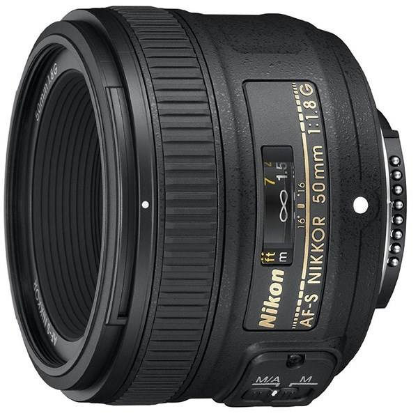 تصویر لنز 50 میلی متری AF-S FX NIKKOR/ ضریب اف 1/8/ فوکس خودکار/ مخصوص دوربین های DSLR نیکون Nikon AF-S FX NIKKOR 50mm f/1.8G Lens with Auto Focus for Nikon DSLR Cameras