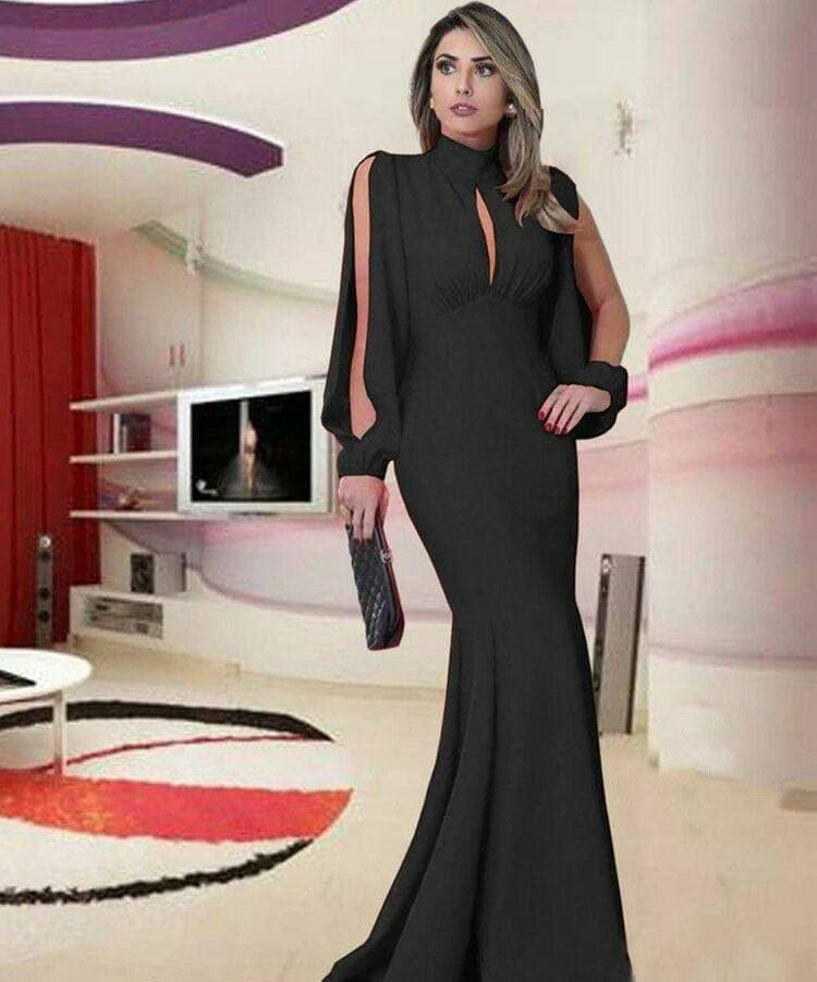 تصویر لباس بلند مجلسی زنانه مدل تارا