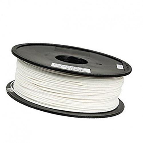 تصویر فیلامنت 1 کیلو گرمی پرینتر 3 بعدی دارای جنس PLA و قطر 1.75mm سفید PLA-1KG-WHT