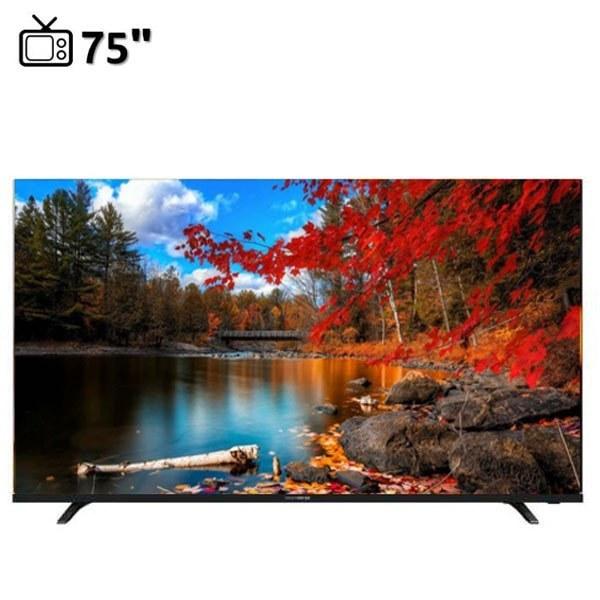 تصویر تلویزیون ال ای دی دوو سایز 75 اینچ مدل DSL-75K5700U هوشمند Daewoo LED size 75 inch DSL-75K5700U smart