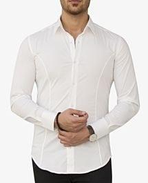 پیراهن آستین بلند مردانه Zara کد 9501