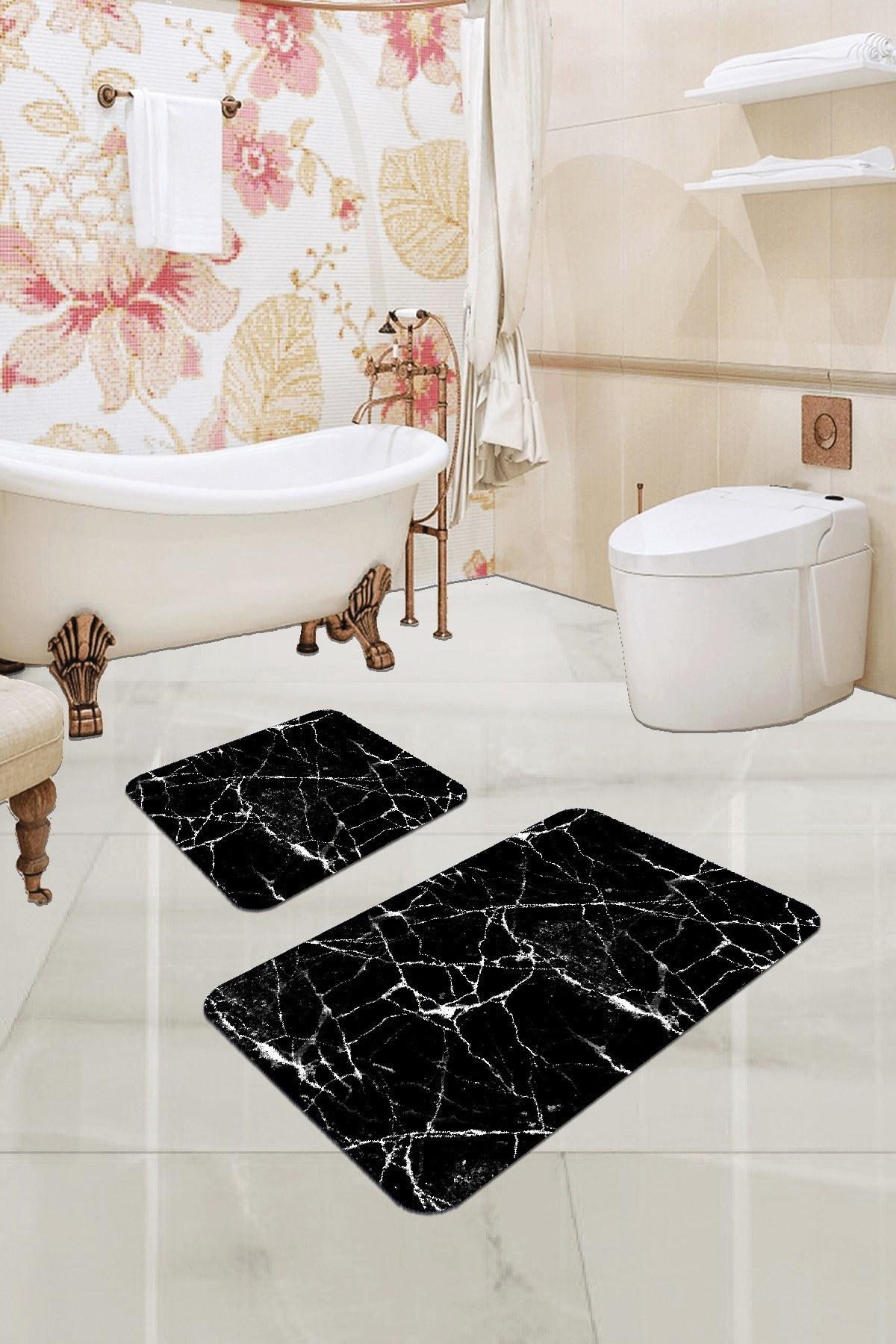 تصویر ست زیرپایی حمام فرش دیجیتالی برند RugViva کد 1624370169