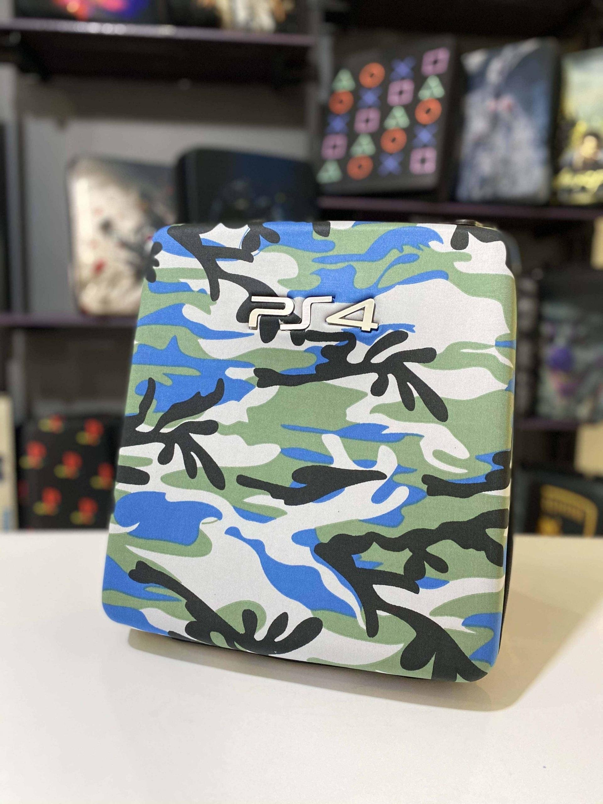 تصویر کیف ضدضربه طرح  Hard Case Camouflage Blue