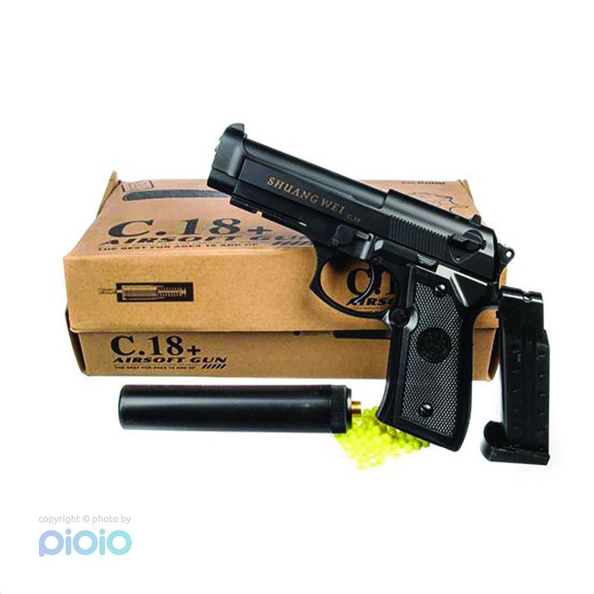 تفنگ فلزی مدل +C.18