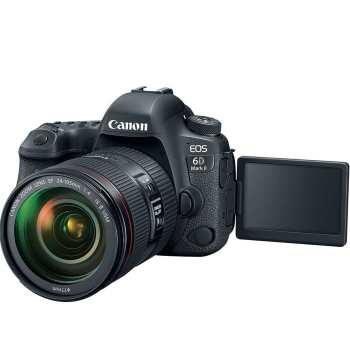 عکس دوربین دیجیتال کانن مدل EOS 6D Mark II به همراه لنز 24-105 میلی متر F4 L IS II Canon EOS 6D Mark II Digital Camera With 24-105 F4 L IS II Lens دوربین-دیجیتال-کانن-مدل-eos-6d-mark-ii-به-همراه-لنز-24-105-میلی-متر-f4-l-is-ii