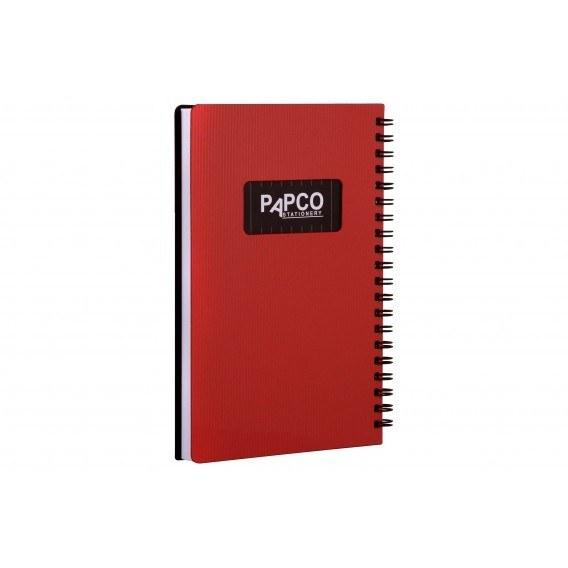 تصویر دفتر یادداشت 100 برگ متالیک پاپکو Papco 100 Metallic Sheet Notebook
