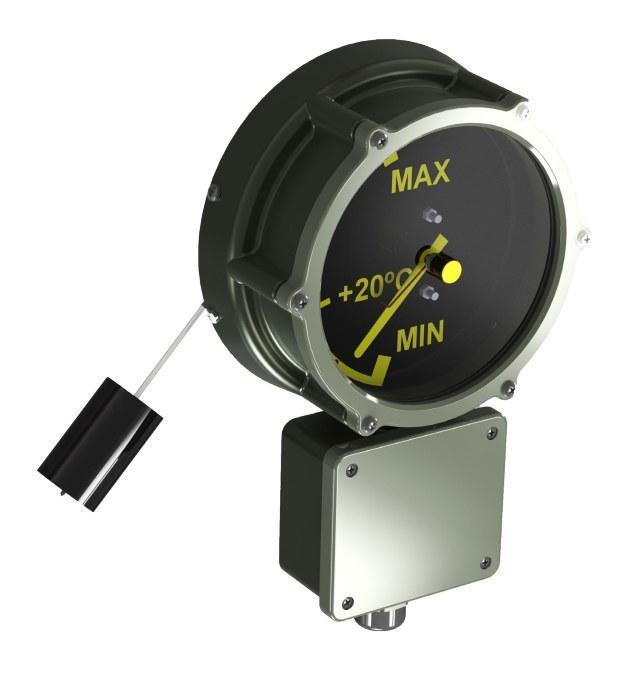 main images روغن نمای مغناطیسی کنتاکت دار ترانس مدل 42569 سری B Magnetic Oil Level Indicator 42569 for transformers