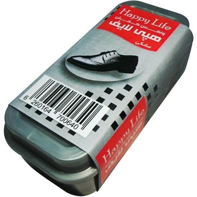 تصویر واکس کفش هپی لایف کد M-1