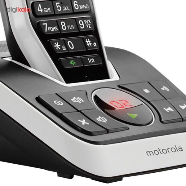 تصویر تلفن بی سیم موتورولا مدل S2012 Motorola S2012 Wireless Phone