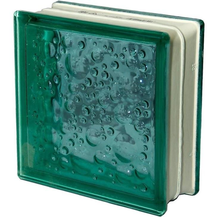 تصویر بلوک شیشه ای مدل حبابی بسته 10 عددی