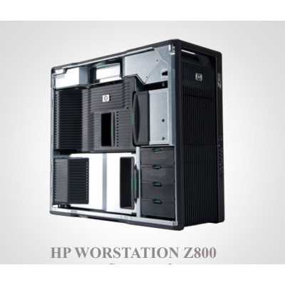 تصویر خرید کیس رندرینگ HP Workstation Z800 مخصوص ۳DS MAX