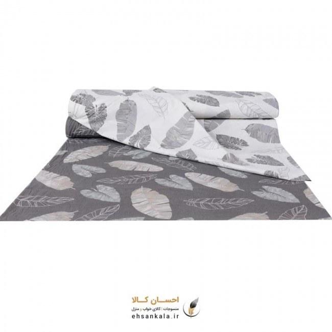 تصویر پارچه ملحفه ماهور طرح برگ کاغذی