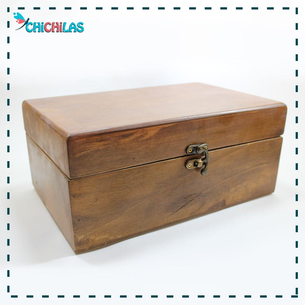 تصویر باکس چوبی کلاسیک