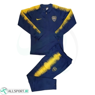 ست گرمکن شلوار بوکاجونیورز Boca Training Tracksuit 2018
