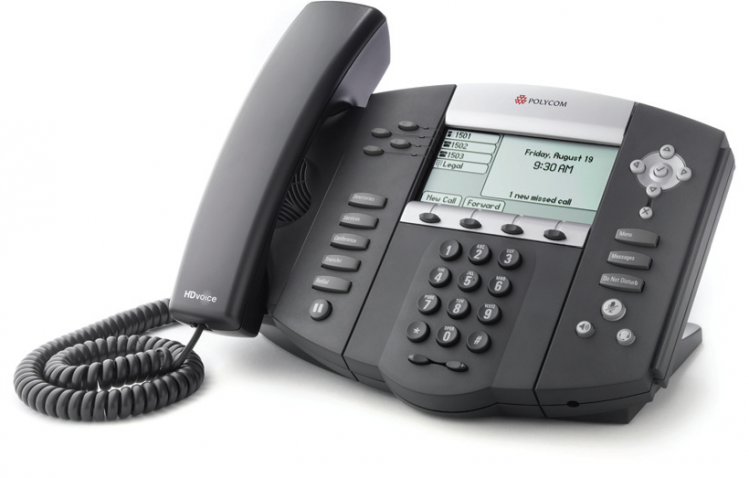 main images Polycom SoundPoint IP 550 phone تلفن VoIP پلی کام مدل SoundPoint IP 550 تحت شبکه