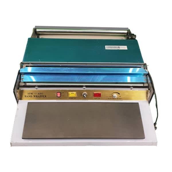 تصویر دستگاه سلفون کش حرارتی HW-450E Cellophane machine TW-450E