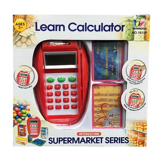 تصویر اسباب بازی دستگاه کارتخوان مدل Learn Calculator