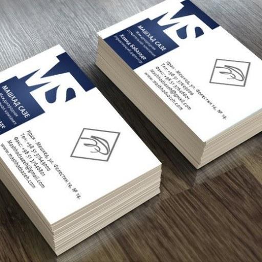 طراحی انواع کارت ویزیت  