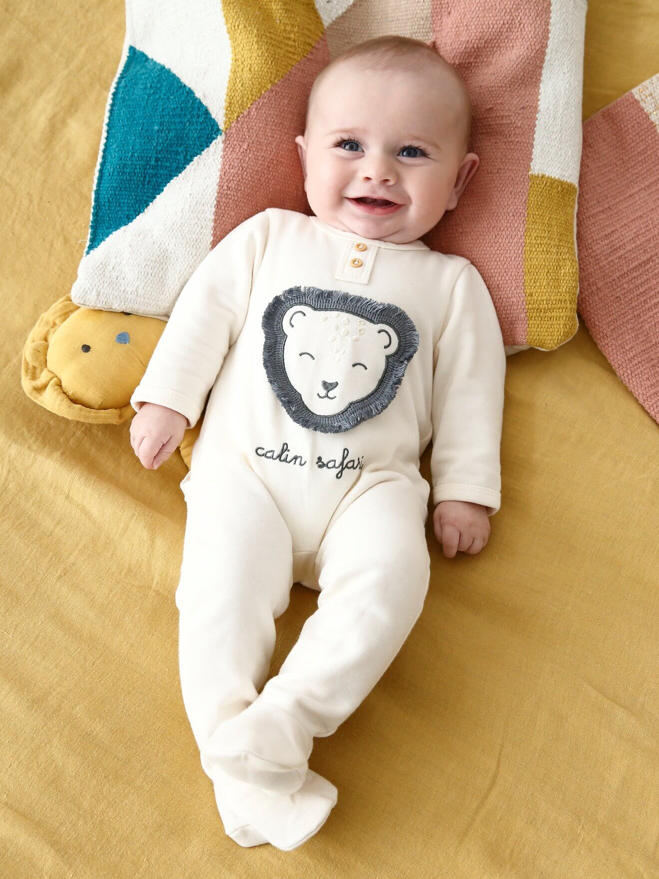 بچگانه - لباس سرهمی نوزاد ورت فرانسه مدل Babystrampler |