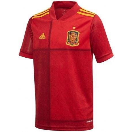پیراهن اول تیم ملی اسپانیا سال Spain 2020 Home Soccer Jersey