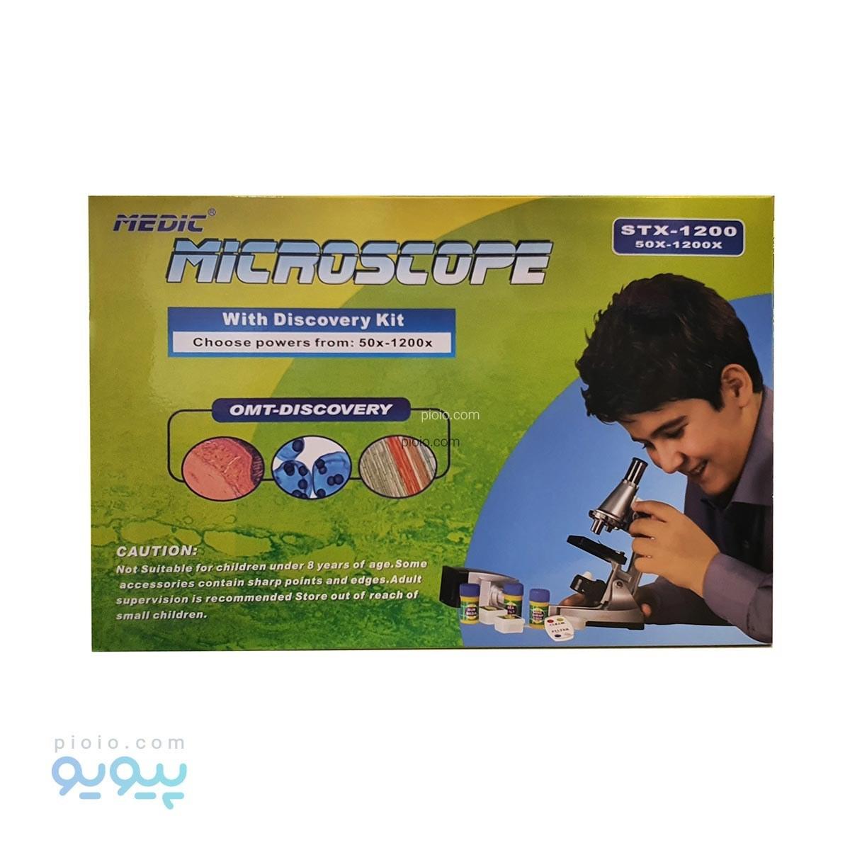 عکس میکروسکوپ مدیک مدل STX-1200 Medic STX-1200 Microscope میکروسکوپ-مدیک-مدل-stx-1200