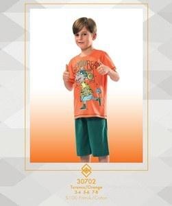 تی شرت شلوارک پسرانه ترک - 30702 Ozkan |