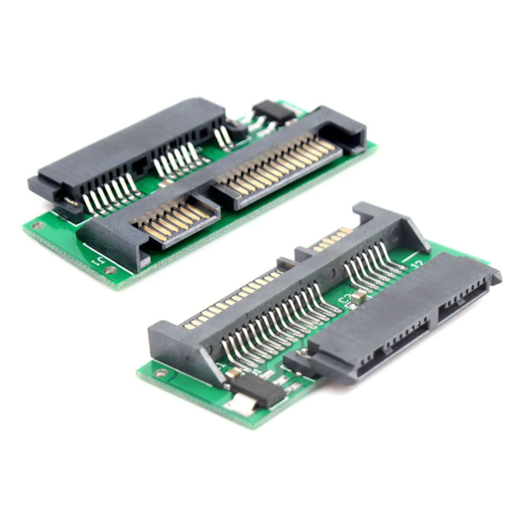 تصویر مبدل تبدیل کابل Micro Sata mSATA SSD به کابل ۲٫۵ Sata هارد دیسک