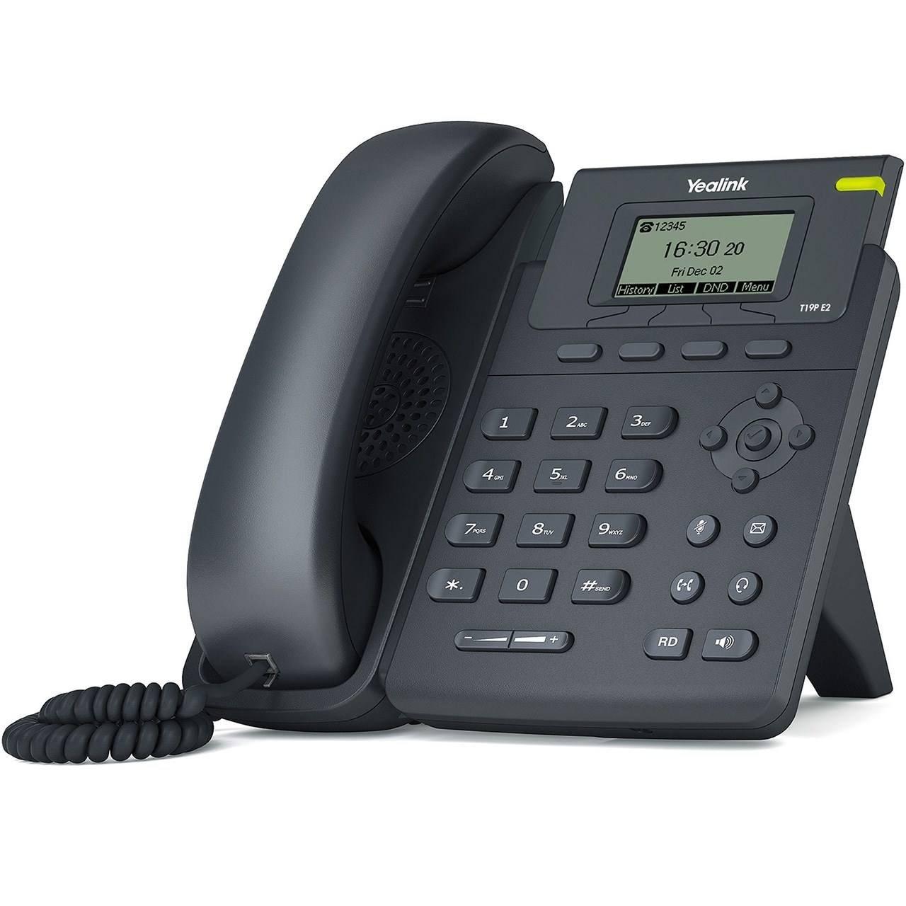 تصویر تلفن تحت شبکه مدل SIP T19 E2 یالینک Yalink SIP T19 E2 network telephone