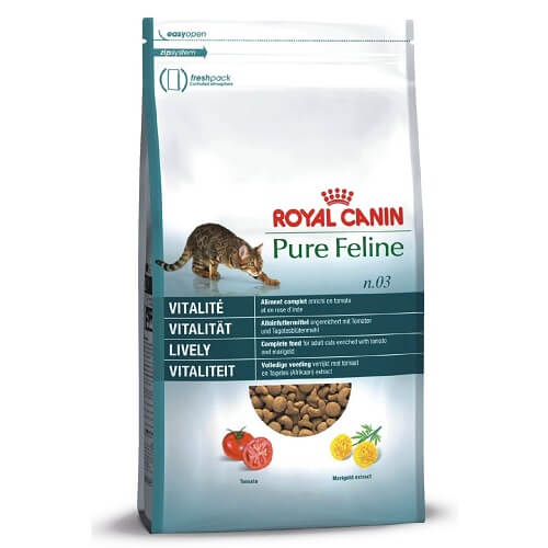 غذای خشک گربه بالغ، شادابی و سرزندگی، ۱٫۵ کیلوگرمی، برند رویال کنین
